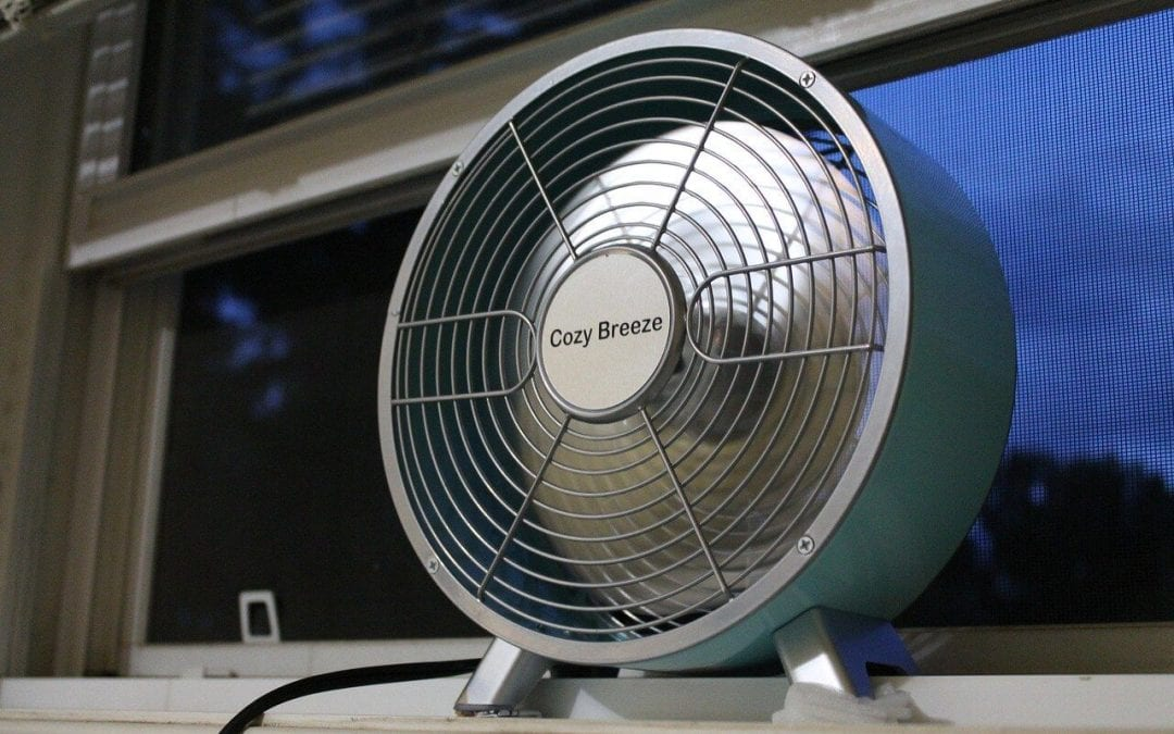 reduce cooling costs by using fans to circulate air